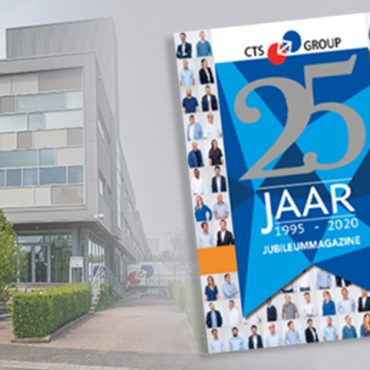 CTS GROUP lanceert jubileummagazine