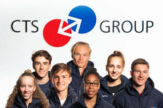 Nieuwe samenstelling CTS GROUP Young Talents