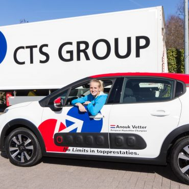 CTS GROUP officieel autosponsor Anouk Vetter