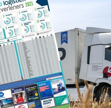 CTS GROUP naar de 57e plek gestegen in de Top 100 Logistiek Dienstverleners 2021
